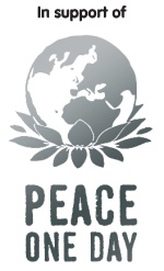 In support of Peace one Day